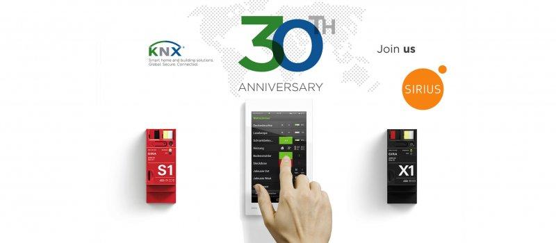 30 лет KNX и подарки от SIRIUS!